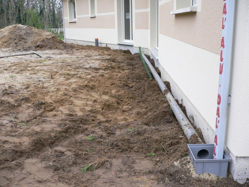 Drainage maison - Comment drainer un terrain ...